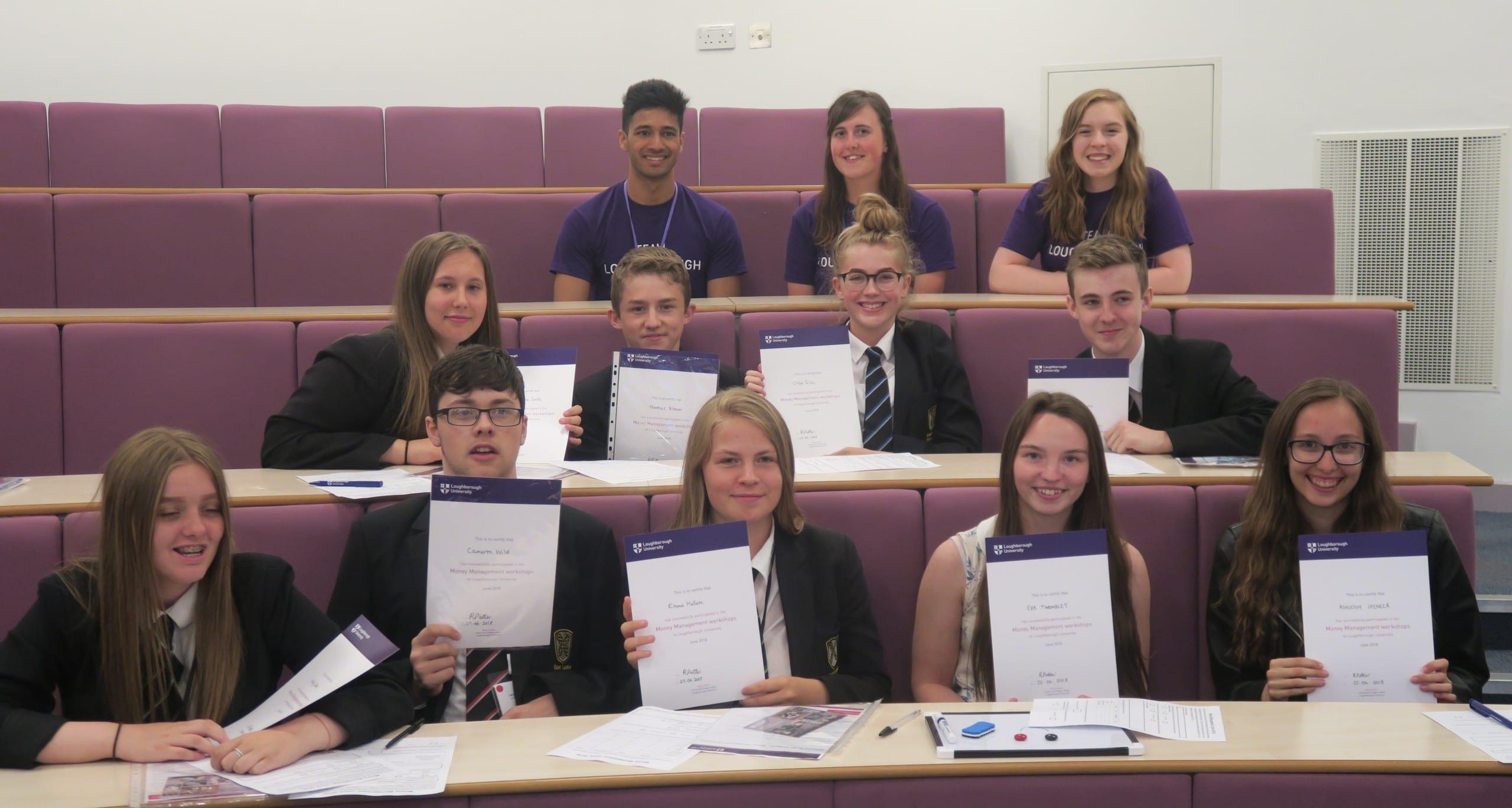 ELA students attend university money management workshop