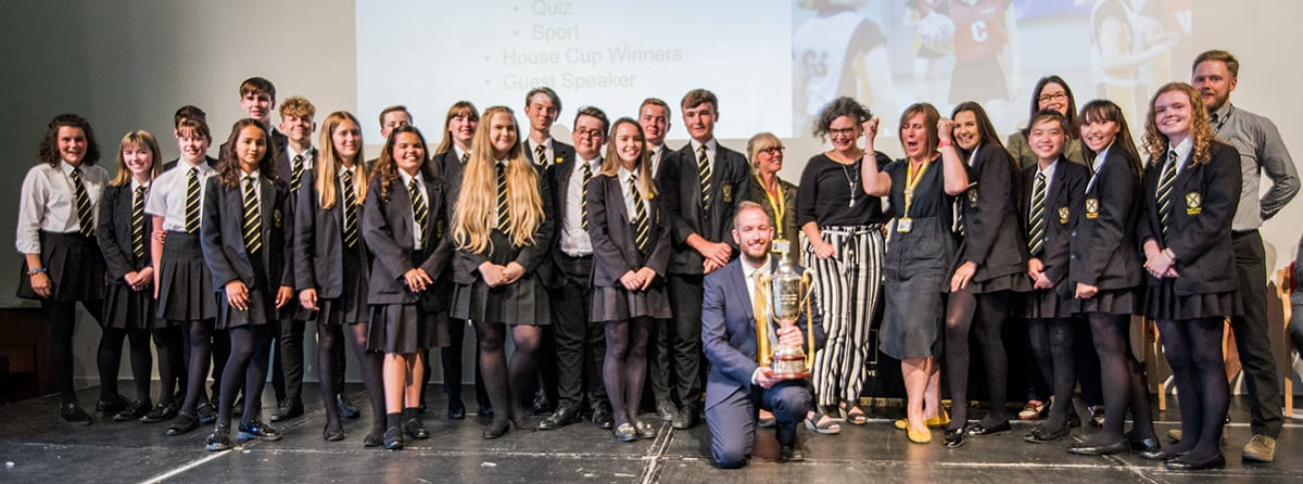 Student successes celebrated at Awards Evening