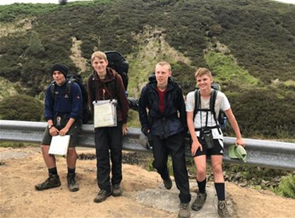 Students complete Duke of Edinburgh's Awards
