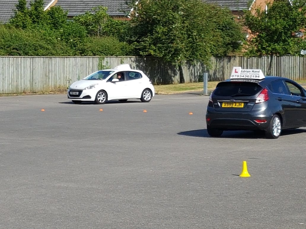 Year 10 and 11 students enjoy driver experience day
