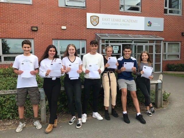 East Leake Academy students celebrate GCSE success