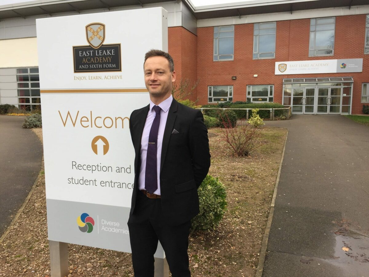 Mr Francis appointed as principal of East Leake Academy