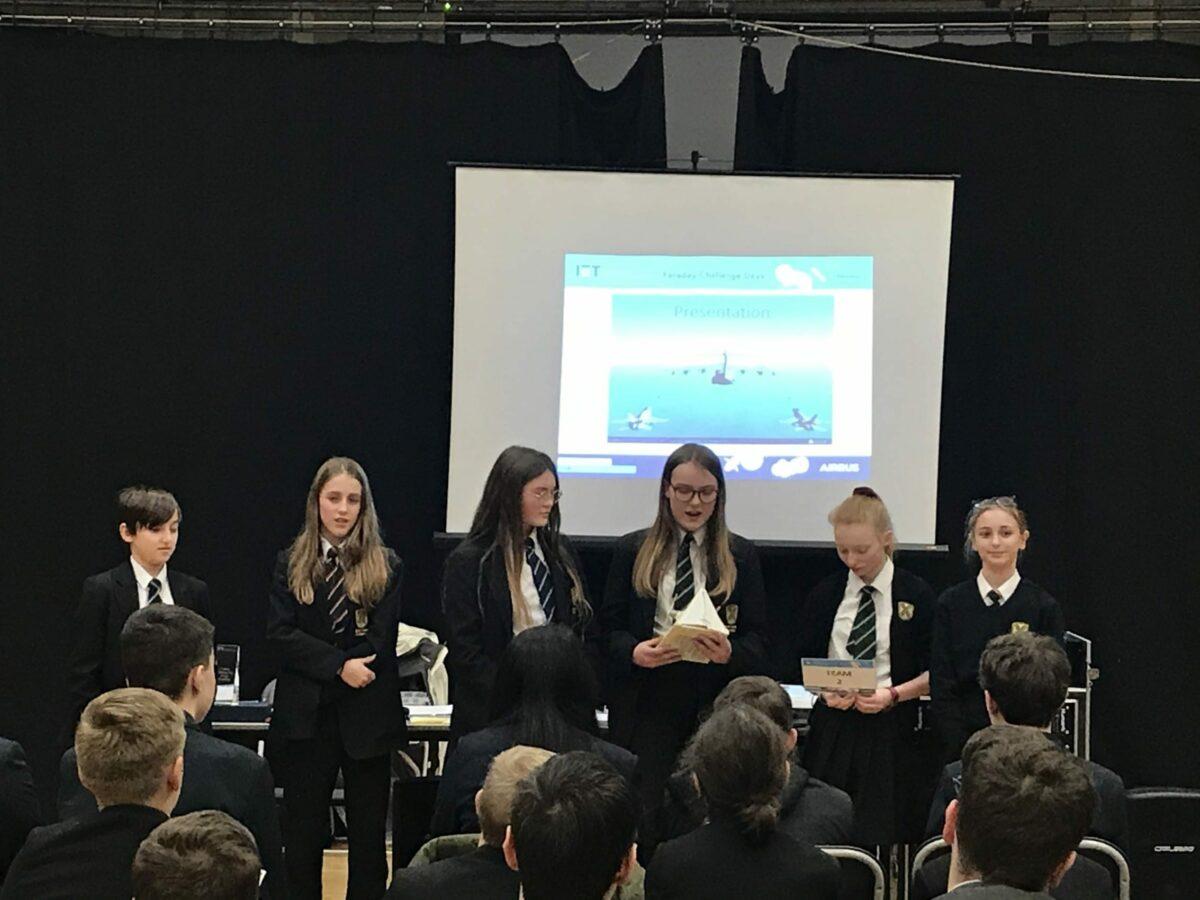 Year 8s reach regional finals of Faraday Challenge